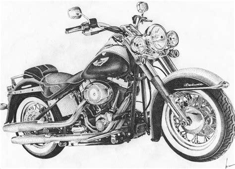 Harley Davidson Drawings by Harley Davidson Drawing Www Imgkid The Image Kid