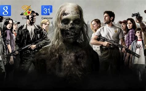 google chrome themes zombie flesh eating zombie browser themes for chrome and firefox