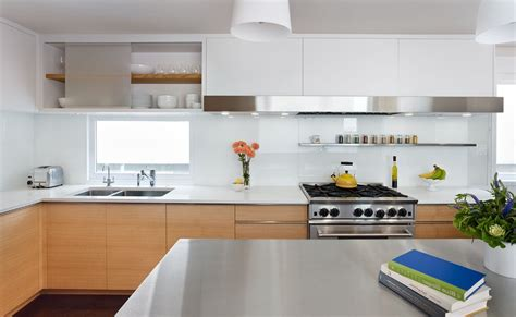 tempered glass countertop kitchen with island