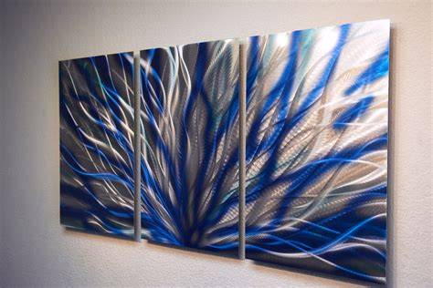 wall art ideas contemporary wall art decor contemporary dining winds blue metal wall art abstract contemporary modern