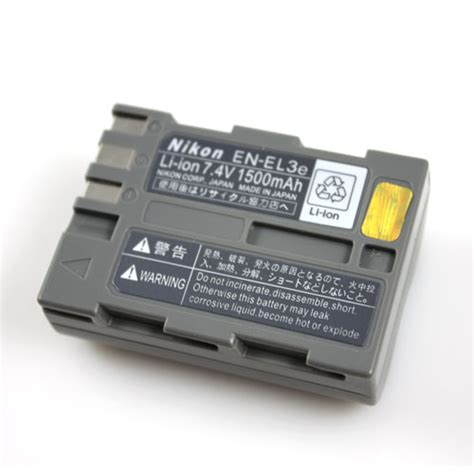 Sdv For Nikon En El3e 1 nikon en el3e battery pack manual pdf