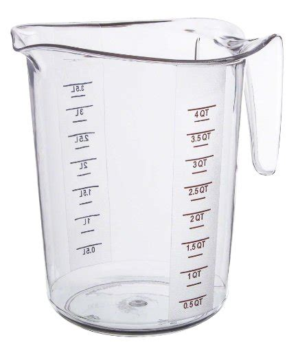 Green Leaf Polycarbonate Measuring Cup Ii Gelas Ukur Plastik 500 Ml compare price to 4 quart measuring pitcher aniweblog org