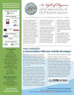 table layout newsletter newsletter design