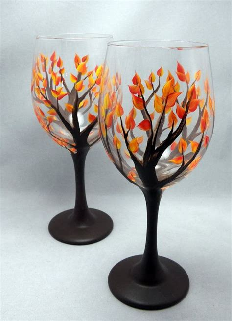 Wine Glass Painting Ideas - 15 painted wine glass designs the diy
