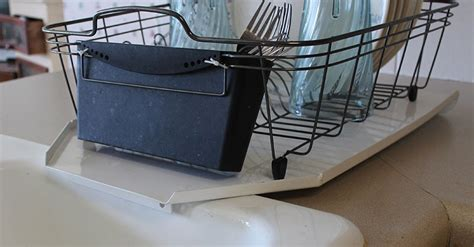 Kitchen Sink With Drainer Board Compact Sloping Kitchen Sink Metal Drainboard Keeps Counters