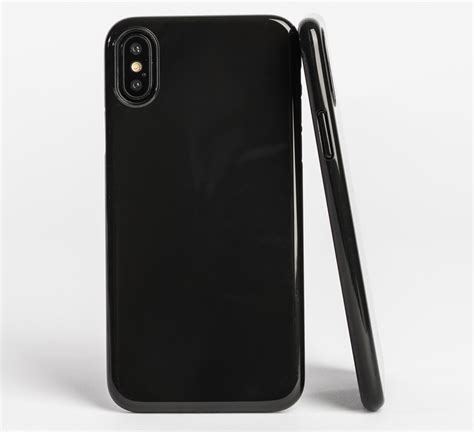 Casing I Phone X Ultra Thin Black best cases for iphone x imore