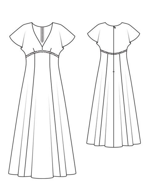 empire line pattern making empire dress 03 2013 132 sewing patterns burdastyle com