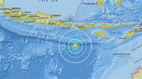 Earthquake Bali | 6 2 quake strikes indonesia off lombok coast rt news
