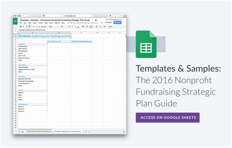 The Nonprofit Fundraising Strategic Plan Guide Nonprofit Fundraising Calendar Template