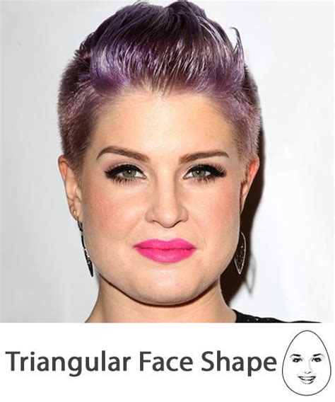 before and after pics of triangle face hairstyles triangular face shape the right hairstyles for you