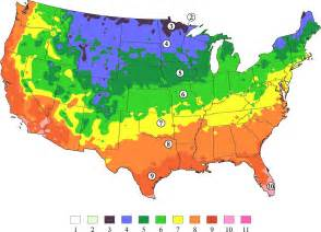 Us Zones For Gardening - our hardiness zone map gets a refresh arbor day blog