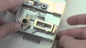 how to a bedroom door key lock how to reverse handing on interior door mortise lock with