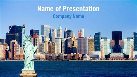 nyu powerpoint template new york harbor view powerpoint templates new york