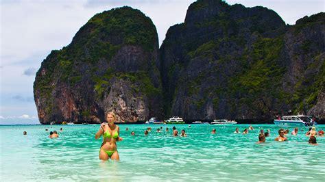 phi phi islands style  beach