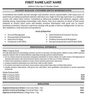 Top Insurance Resume Templates & Samples