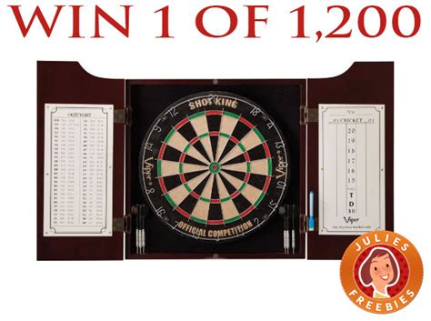 viper hudson dartboard win a viper hudson dartboard center 1200 winners julie