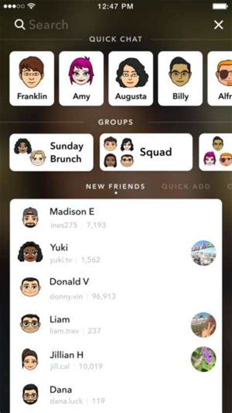 Search Snapchat Snapchat Just Got Way Easier To Use Thanks To A New Search Bar Cio