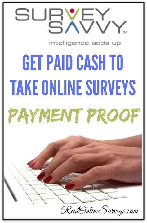 Legitimate Paid Surveys - survey savvy review legitimate paid survey site payment proof