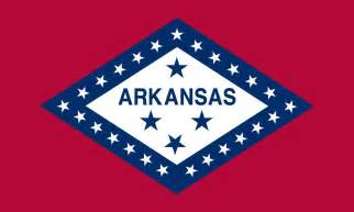 of arkansas colors arkansas state flag coloring pages usa for
