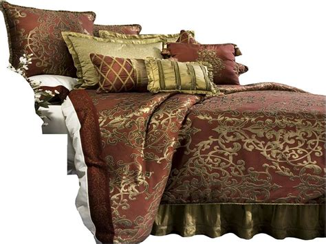 burgundy and gold comforter sets home design