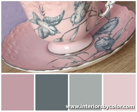 pink and grey color scheme new pink and gray color palettes you ll love to decorate with