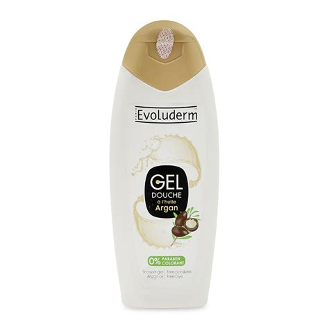 Evoluderm 400ml Argan Shower Gel gel tắm tinh dầu argan evoluderm 400ml marrybaby