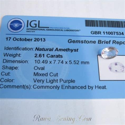 Cincin Purple Spinel Memo permata amethyst 2 61 carat harga promo memo