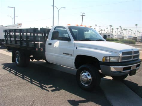 dodge 3500 2002 dodge 3500 flatbed truck for sale in
