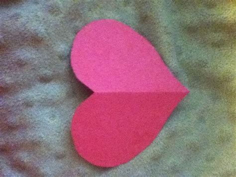 How To Make A Paper Hart - how to make a symmetrical paper 7 steps with pictures