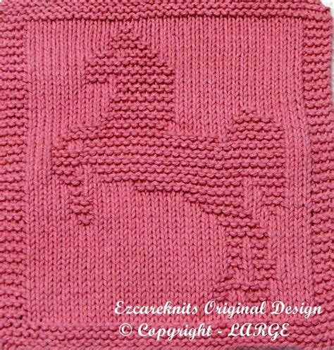 knitting pattern horse motif knitting dish cloth pattern lipizzaner horse instant by