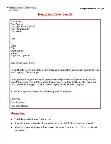 Resignation Letter For Email 33 simple resign letter templates free word pdf excel