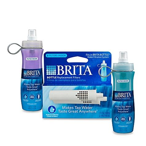 brita bed bath and beyond brita 174 bottle filtered water bottles bed bath beyond