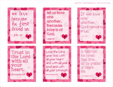 bible verses for valentines day bible verse printable cards