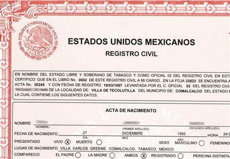 tarifas de matrimonio civil y servicios de registro suben corrige registro civil de cdmx 41 mil 661 actas noticias