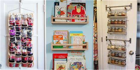 baby closet organizer ideen closet door storage ideas new uses for closet doors