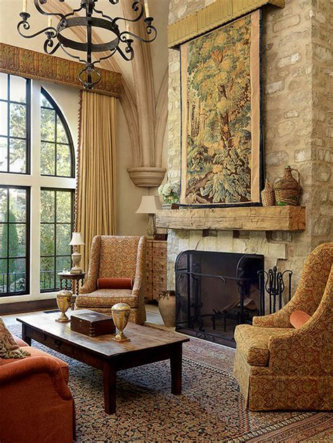 Tuscan Decor Living Room by So Warm And Inviting Quot Tapestries And Rugs Are Popular In Tuscan Decorating Use Them As