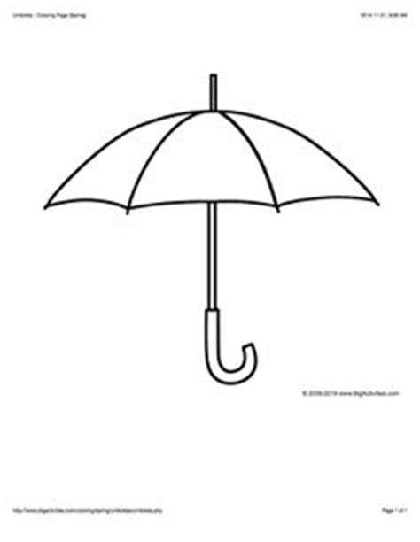 big umbrella coloring page 1000 images about spring on pinterest spring word