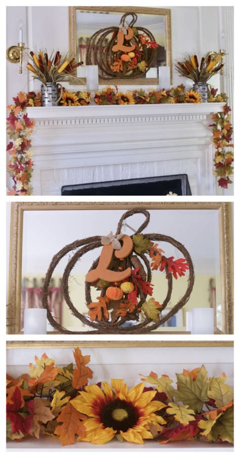 Fall Decor Inspiration For Your Decorating Mantel Ideas For Fall Decor Change Up Your Decor