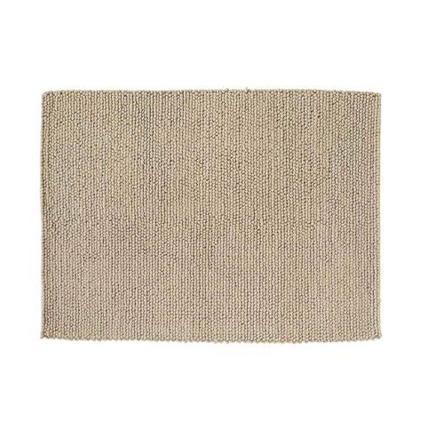 tappeto beige tappeto beige in 140 x 200 cm industry maisons du monde