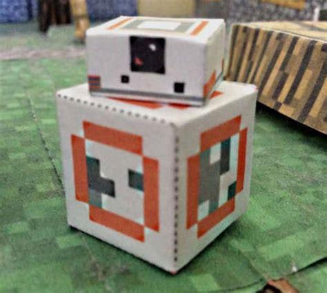 Papercraft Shop - wars bb 8 astromech droid free minecraft papercraft