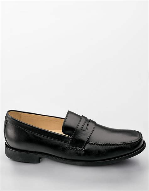 johnston and murphy loafers johnston murphy ainsworth loafers in black for