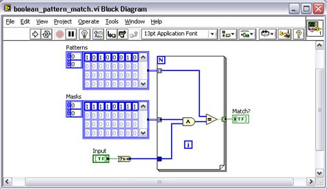 pattern matching labview boolean pattern matching with a wildcard labview