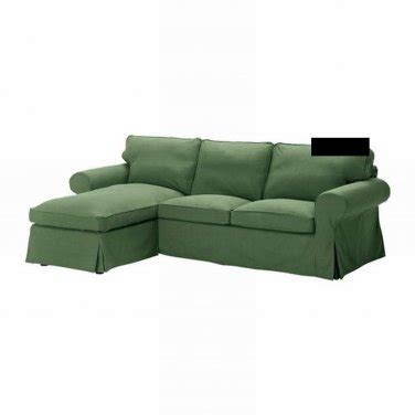 Chaise Slipcover Ikea Ektorp 2 Seat Loveseat W Chaise Cover 3 Seat