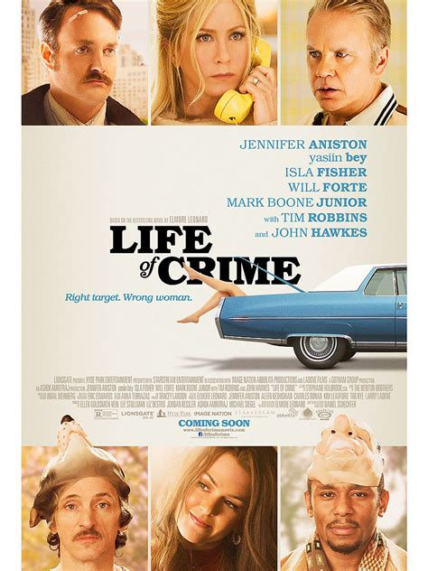 Biography Crime Movie | first look jennifer aniston s life of crime movie poster