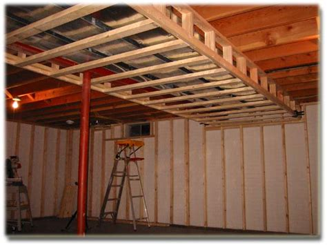 How To Frame Out Basement Framing Basement Ceiling Ductwork Marvelous Landscape