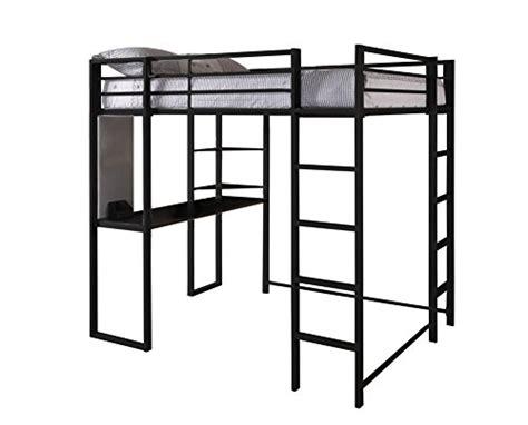 metal loft beds  desk