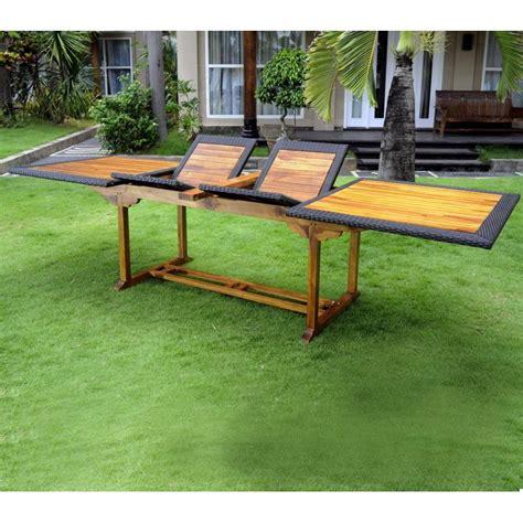 Grande Table De Jardin En Pvc