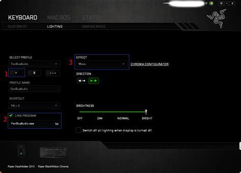 keyboard visualizer tutorial razer insider forum razer keyboard spectrograph