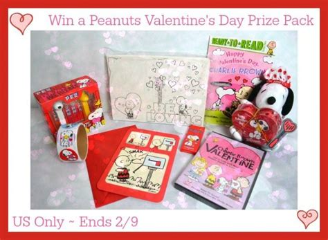 win this valentine s day mega prize pack giveaway 250 win a peanuts valentine s day prize pack us ends 2 9