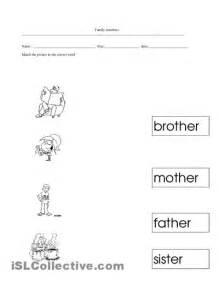 15 best images of my family worksheets for kindergarten